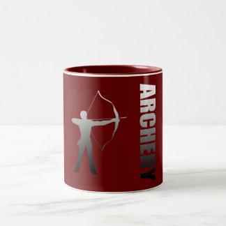 Archery London to Rio de Janeiro Archers Two-Tone Coffee Mug