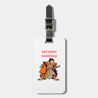 ARCHERY LUGGAGE TAG