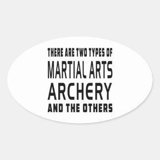 Archery Martial Arts Designs Stickers