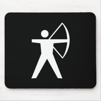 Archery Pictogram Mousepad