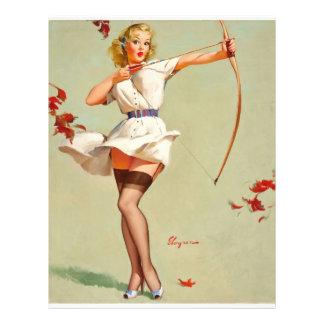Archery Pin-Up Girl Flyer