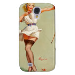 Archery Pin-Up Girl Galaxy S4 Cover
