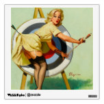 Archery Pin-Up Girl Wall Decal