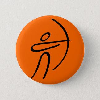 Archery Pinback Button