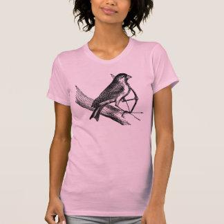 Archery Sparrow Bird with Bow & Arrow Vintage T-Shirt