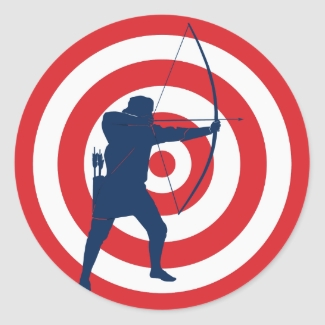 Archery Sticker