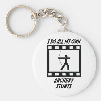 Archery Stunts Keychain