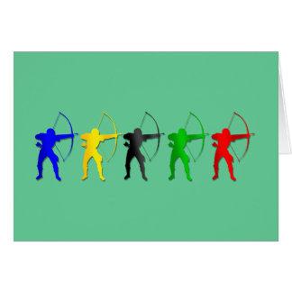 Archery Summer Games   Archer Sports Card