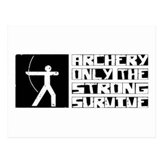 Archery Survive Postcard