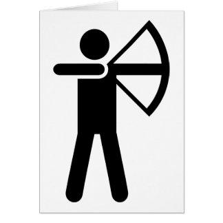 Archery Symbol Card