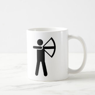 Archery Symbol Coffee Mug