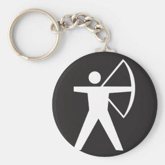 Archery Symbol Keychain