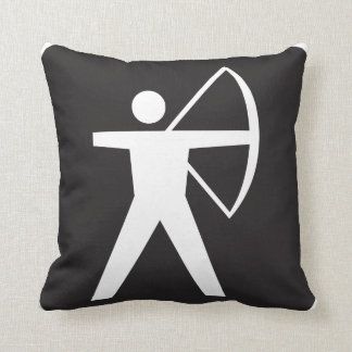 Archery Symbol Pillow
