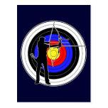 Archery & target 01 ポストカード
