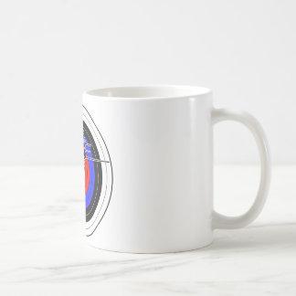 Archery & target 01 coffee mug