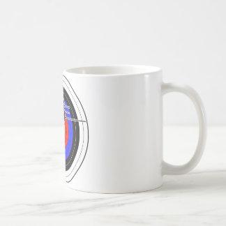 Archery & target 02 coffee mug