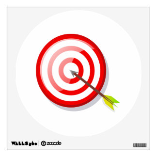 Archery Target and Arrow Wall Decal