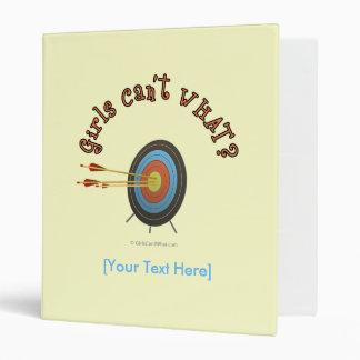 Archery Target Bullseye Binder