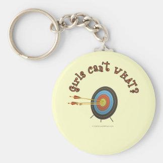 Archery Target Bullseye Keychains