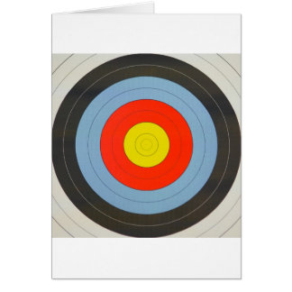 Archery Target Card