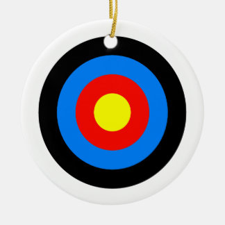 Archery Target Christmas Tree Ornaments