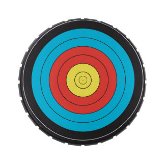 """""""Archery Target"""" design gifts and products Candy Tins"""