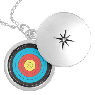 """Archery Target"" design jewelry"