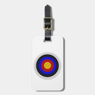 Archery Target Design Just Add Text Luggage Tag
