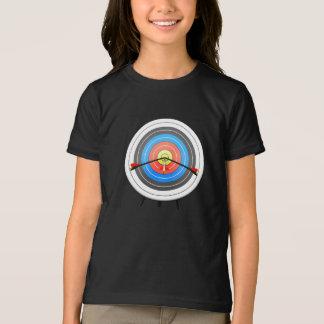 Archery Target Girls T-Shirt