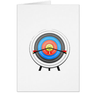 Archery Target Greeting Cards