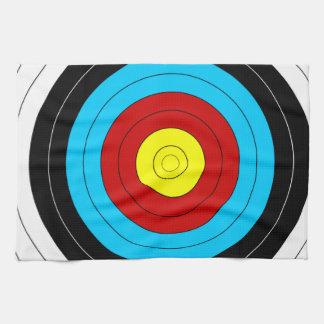 Archery Target Hand Towel