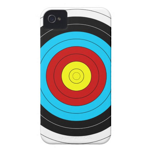 target iphone cases archery target iphone 4 mate zazzle 13080