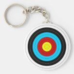 Archery Target Keychains