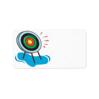 Archery Target Label