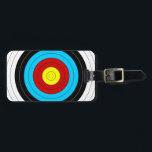 "Archery Target Luggage Tag<br><div class=""desc"">Archery Target</div>"
