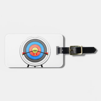 Archery Target Luggage Tags