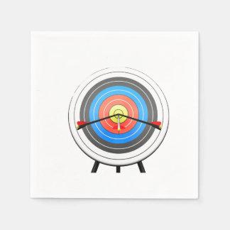 Archery Target Paper Napkins