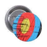 Archery target pins