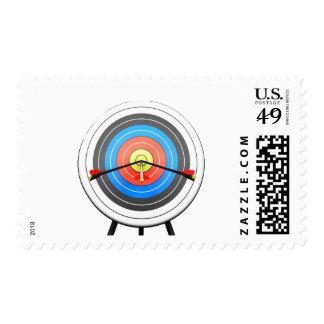 Archery Target Postage