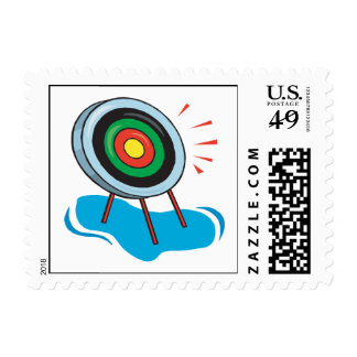 Archery Target Stamps
