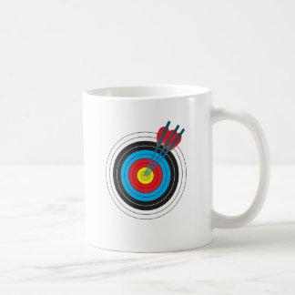 Archery Target with Arrows Mug