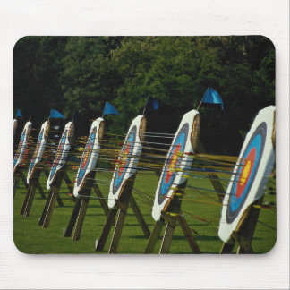 Archery targets near Brentwood Essex U K Mouse Pad