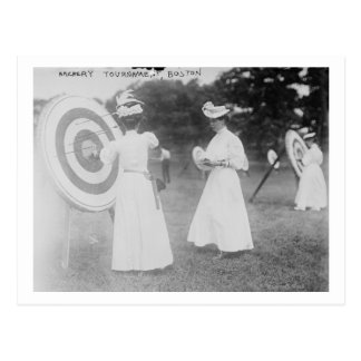 Archery Tournament in Boston, MA Photograph Post Cards