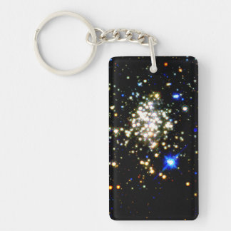 Arches Cluster Double-Sided Rectangular Acrylic Keychain