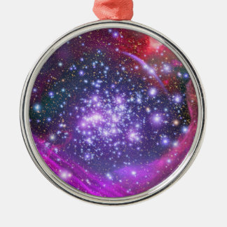 Arches Cluster the Densest Milky Way Star Cluster Metal Ornament