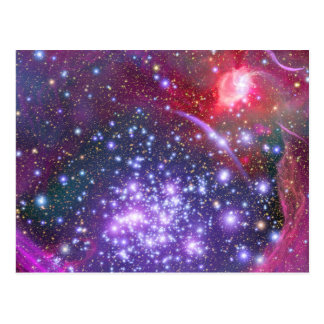 Arches Cluster the Densest Milky Way Star Cluster Postcard
