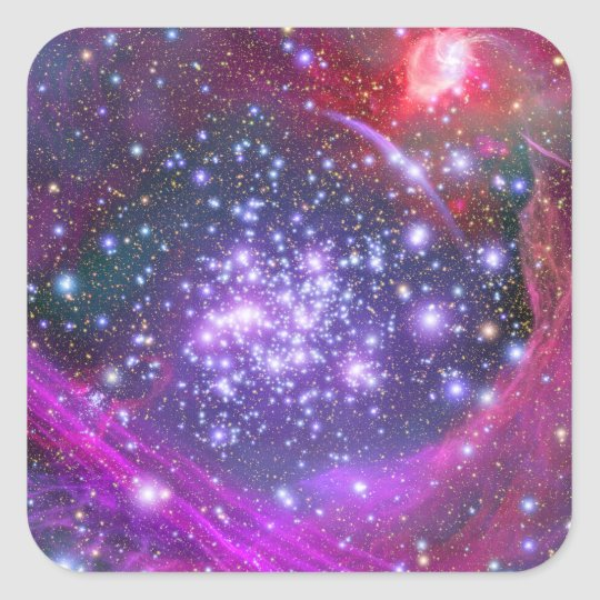 Arches Cluster the Densest Milky Way Star Cluster Square Sticker