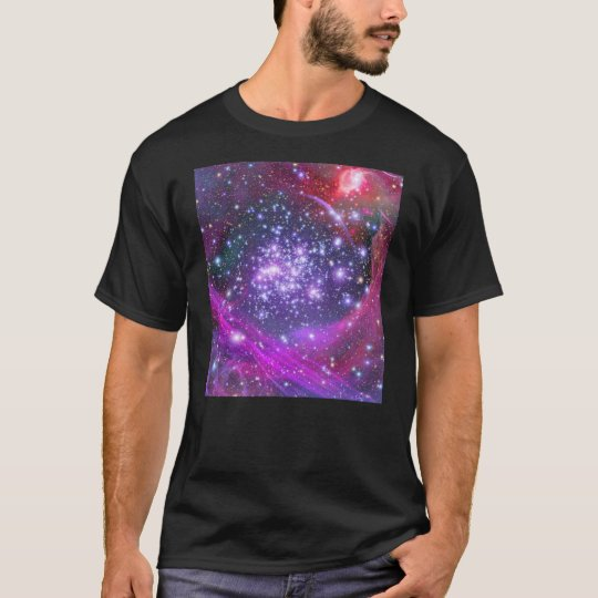 Arches Cluster the Densest Milky Way Star Cluster T-Shirt