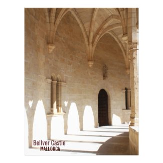 Arches in Bellver Castle flyer