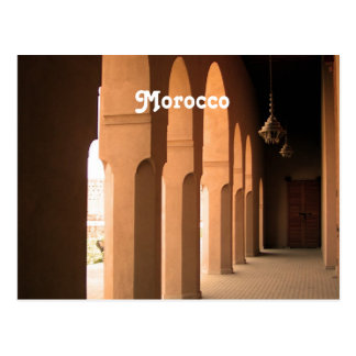 Arches in Morocco Postcard
